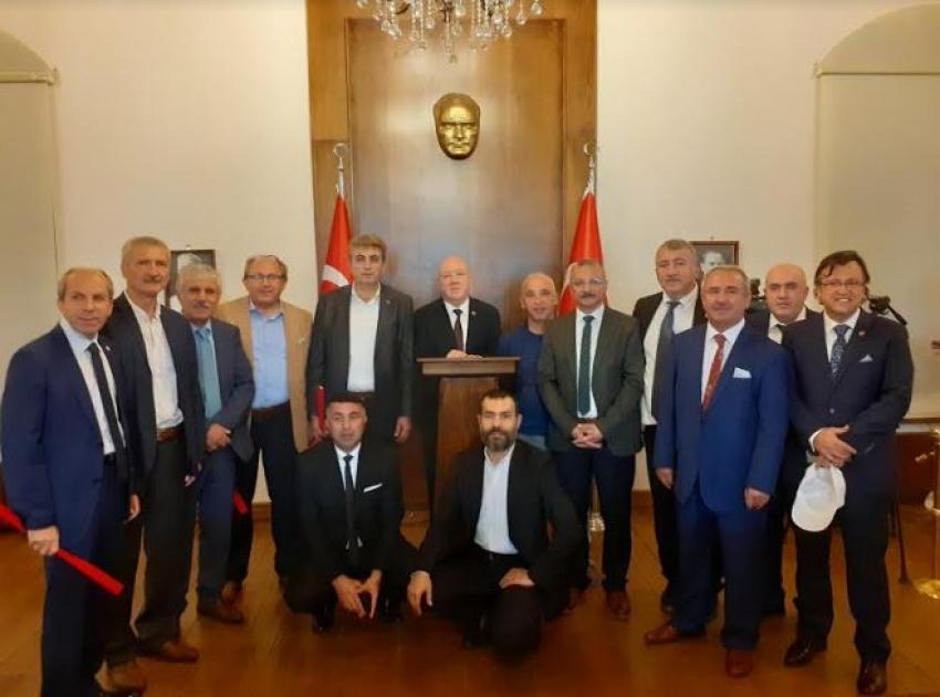 Türkiye Gazeteciler Konfederasyonu Yönetim Kurulu Erzurum'da toplandı