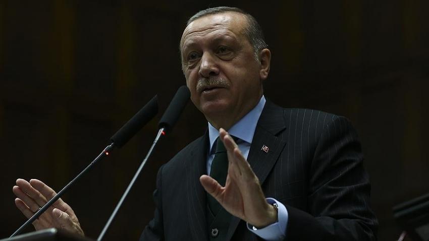"""Erdoğan: """"Partimiz adına söz söyleme hakları yok"""""""