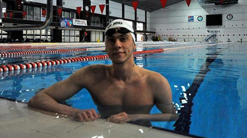Bursalı Milli Yüzücü Berkay Ömer Öğretir, ülkemizi Tokyo'da temsil edecek