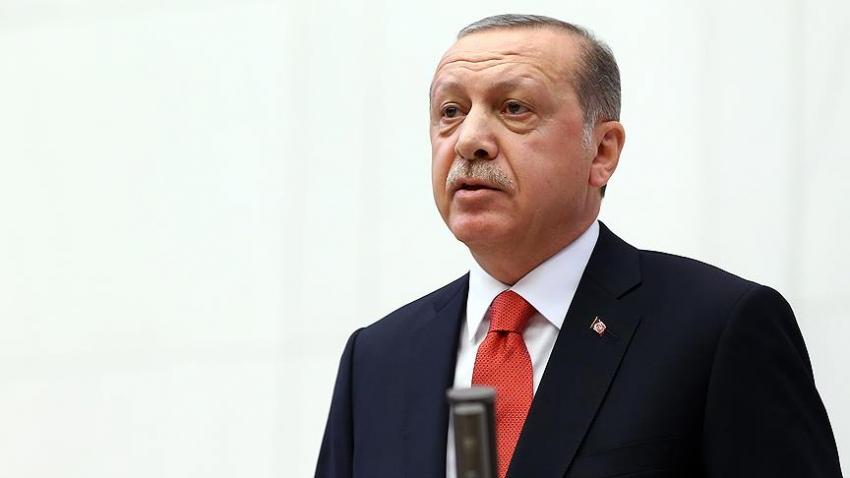 """Erdoğan: """"Kanlı senaryonun önündeki en büyük engel Türkiye"""""""