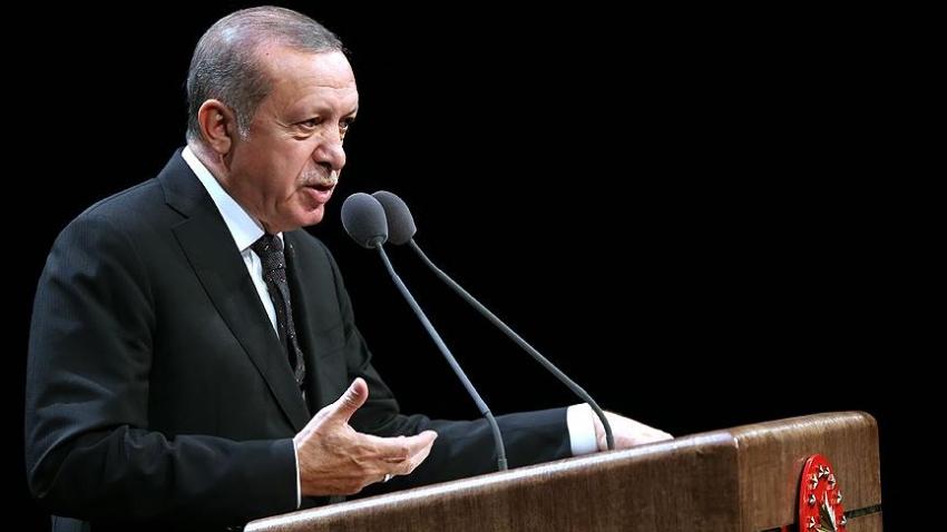 """Erdoğan: """"Yerli ve milli anlayışı çok güçlü bir şekilde yerleştirmeliyiz"""""""