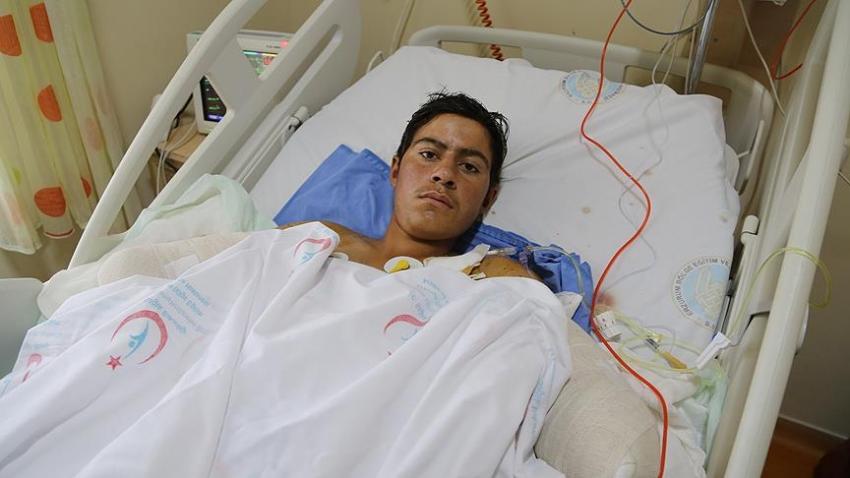 Kollarını kaybeden çobana belediye başkanından protez sözü