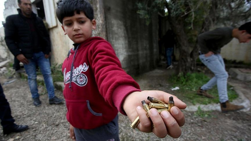 Filistinli şehit için Cenin'de yas ilan edildi