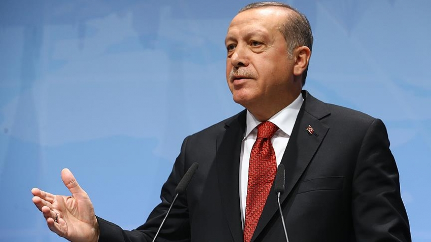 """Erdoğan: """"AB güvenilirliğini yerle bir etmiştir"""""""