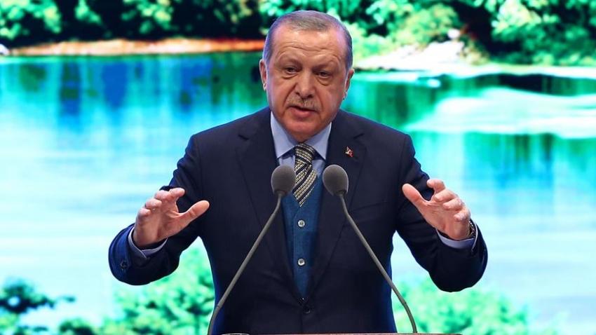 """Erdoğan: """"Ne yaparsanız yapın 2019 AKM'nin bittiği yıl olacak"""""""