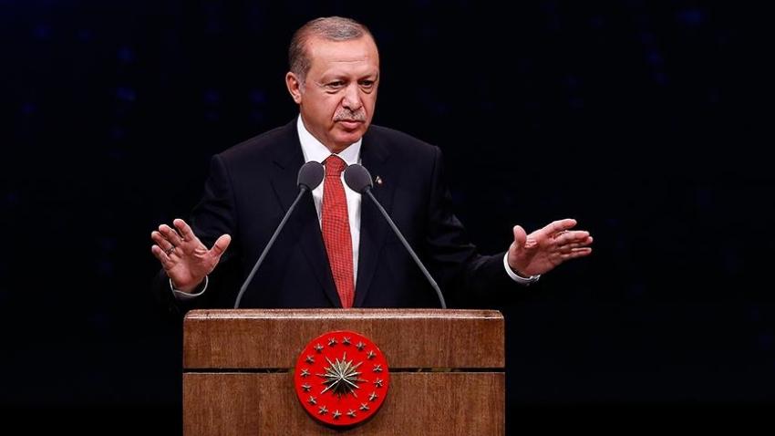 """Erdoğan: """"Kirli bir senaryo uygulanıyor"""""""