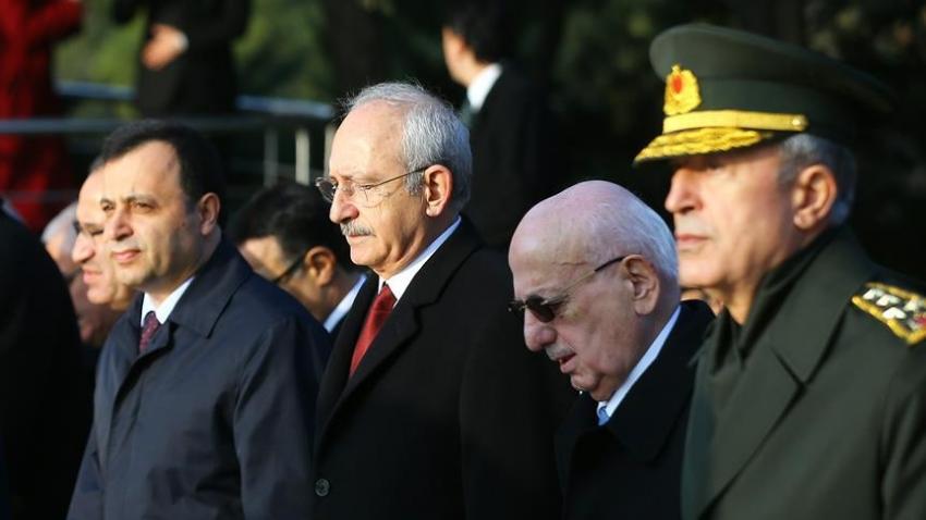 """Kılıçdaroğlu: """"Atatürk'ü sonsuz bir minnet ve özlemle anıyorum"""""""