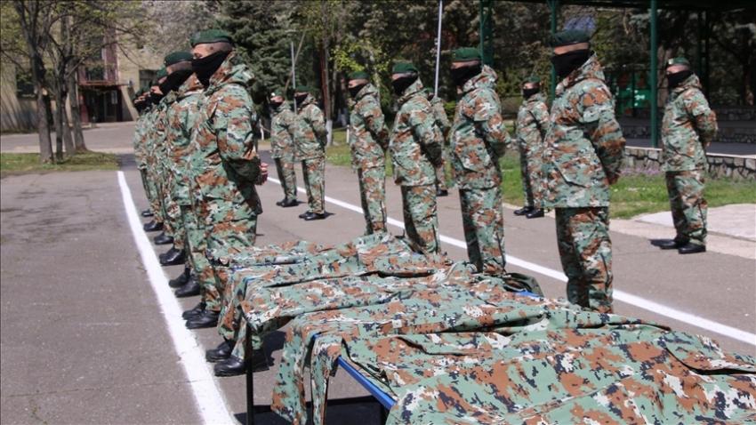 Türkiye'den Makedon ordusuna bağış