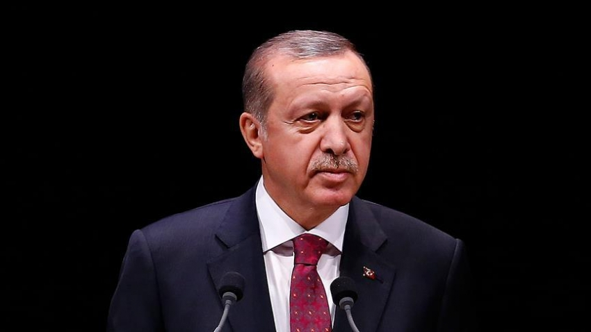 """Erdoğan: """"Ordu sadece Türk milletinin ordusudur"""""""