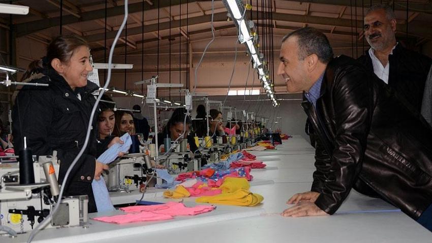 Tunceli'nin ilk tekstil atölyesi üretime başladı