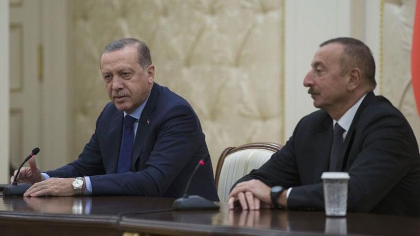 """Erdoğan: """"Türkiye-Azerbaycan dayanışması güçlenerek artıyor"""""""
