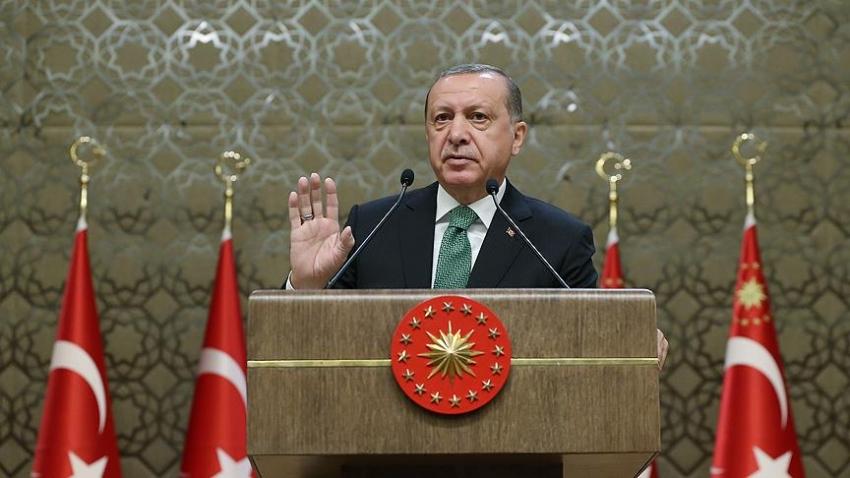 """Erdoğan: """"Gazilerimiz 80 milyonun namusuna..."""""""