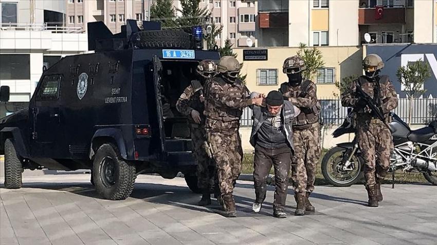 Bursa'da yakalanan DEAŞ'ın infazcısı...