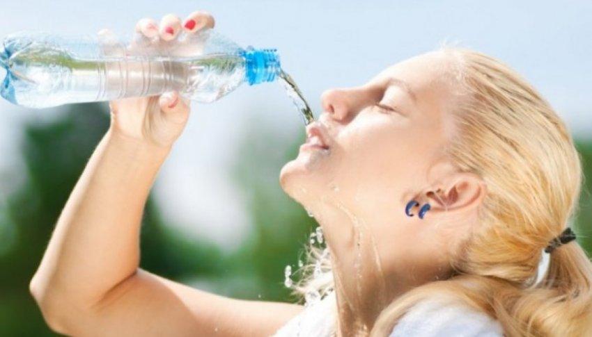 Susamadan su içmeyin!