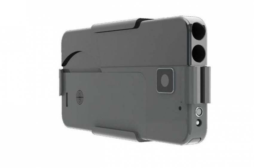 iPhone silah oldu!