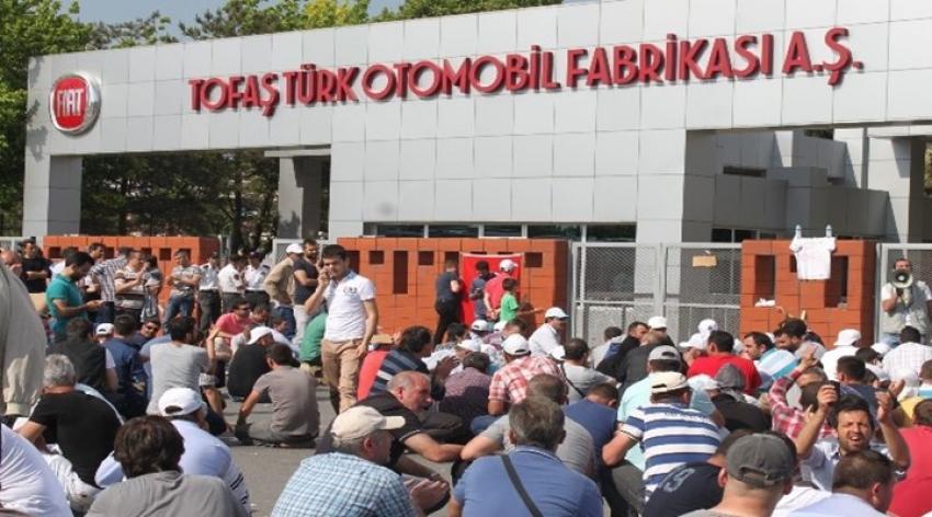 TOFAŞ işçilerine sendika desteği