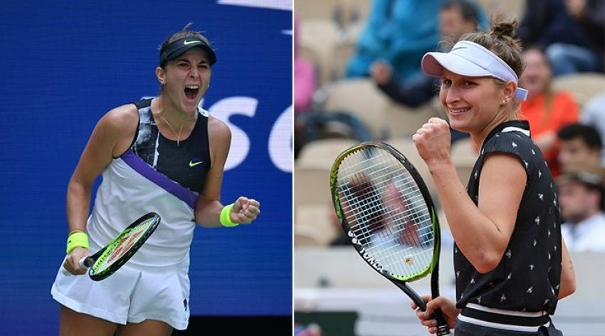 Tokyo'da tek kadınlar finalinde Bencic've  Vondrousova karşılaşacak