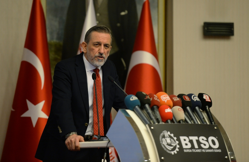 """BTSO Başkanı Burkay'dan """"Yeni dönem projeleri''"""