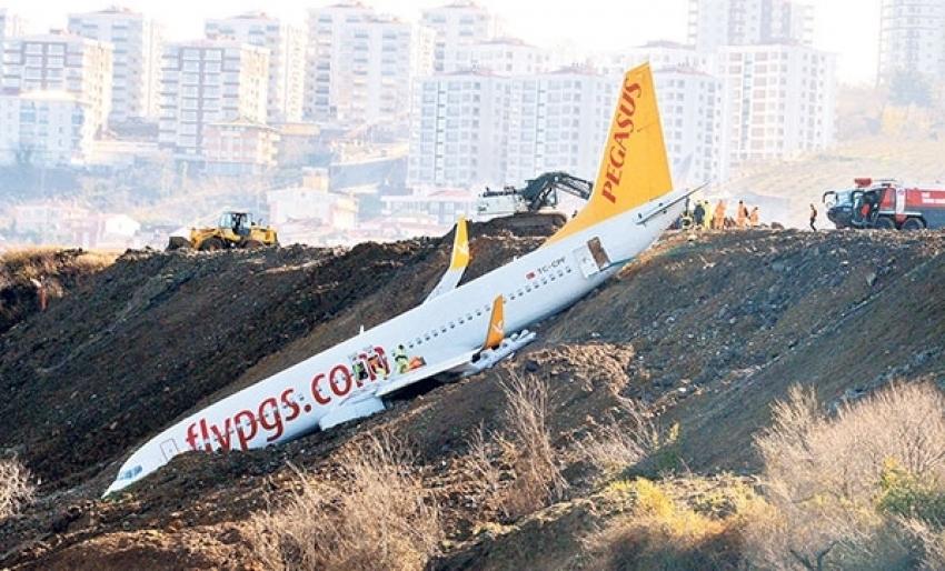 Pistten çıkan uçakla ilgili şok detay!