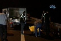 Trafik kazası 8 aylık kızı babasız bıraktı