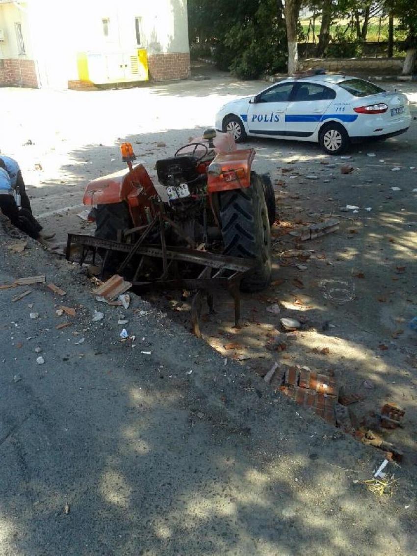 Bir traktör kazası daha!