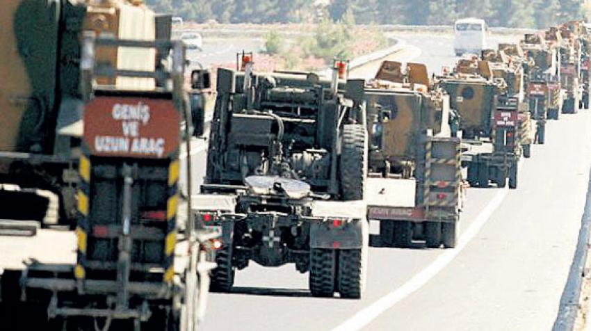 TSK'nın yığınağı IŞİD'lileri korkuttu