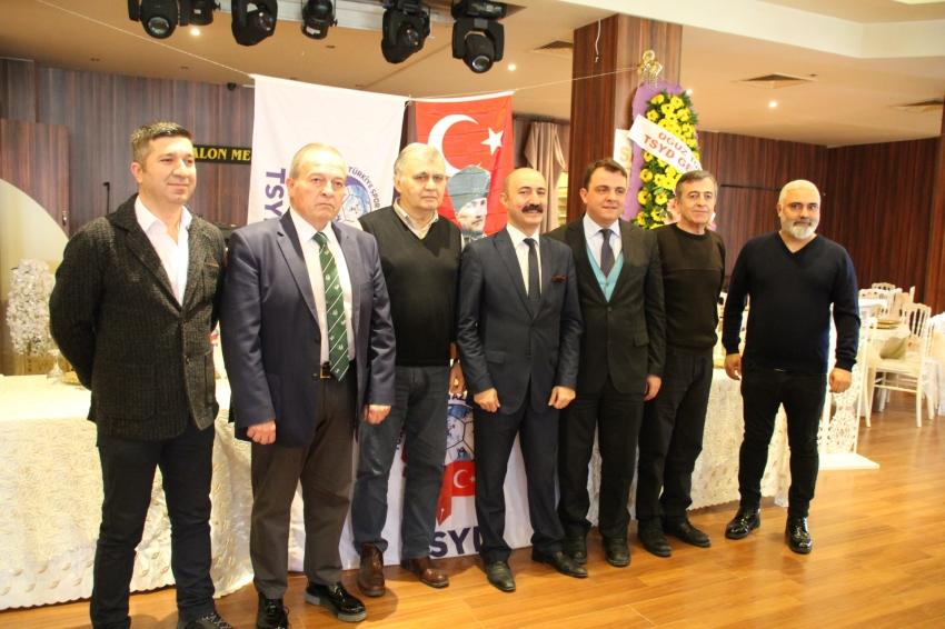TSYD Bursa Şube'de Yeni Başkan Mehmet Ali Ekmekçi