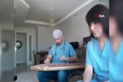 Tüm Türkiye'nin konuştuğu korona şarkısı