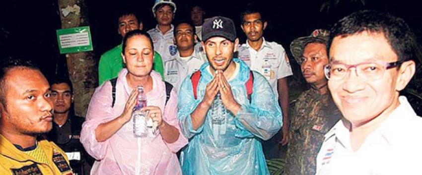Türk çift Phuket'te ormanda kayboldu
