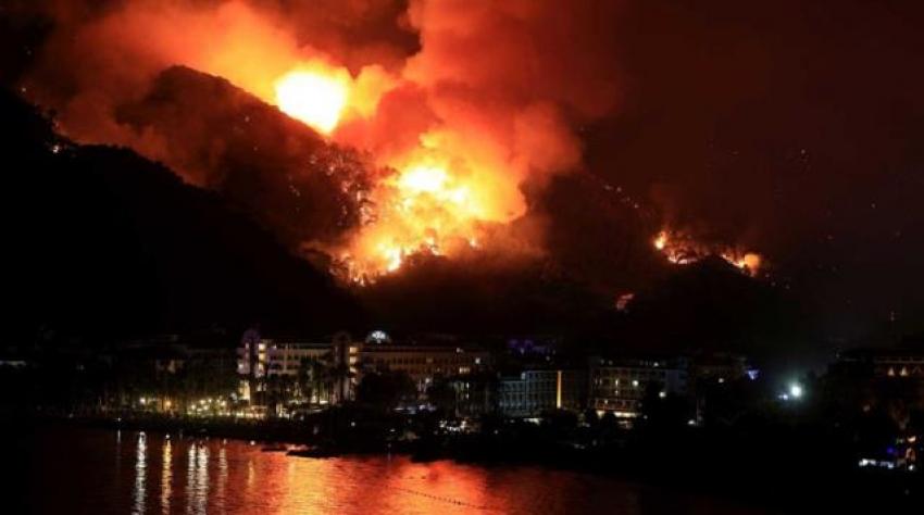 İşte il il devam eden yangınlar