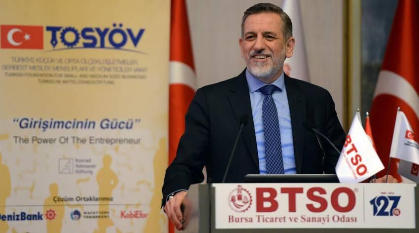 'Türkiye ekonomisi KOBİ'lerle büyüyor'