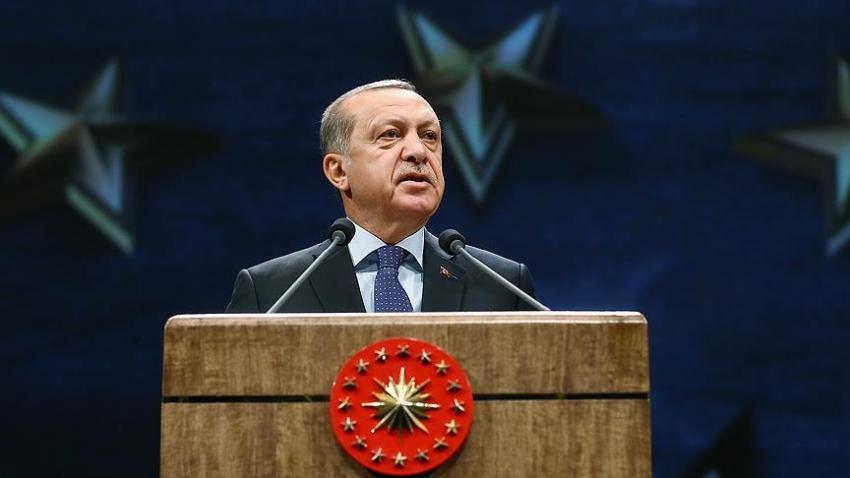 """Erdoğan: """"Türkiye içeriden ve dışarıdan kuşatılmaya çalışılıyor"""""""