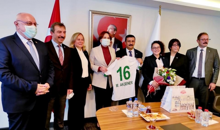 Akşener 31 Ekim'de Bursa'da...
