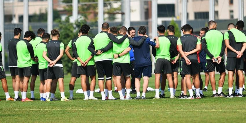 Bursaspor Tuzlaspor Maçı Hazırlıklarına Başladı