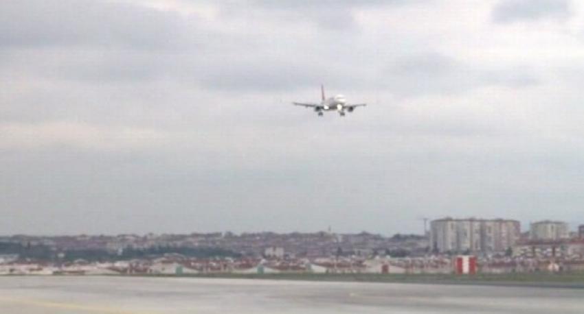 Bursa'da uçakta kalp krizi geçirdi!