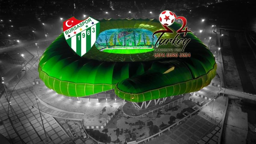 Bursaspor Kulübü'nden Euro 2024 desteği