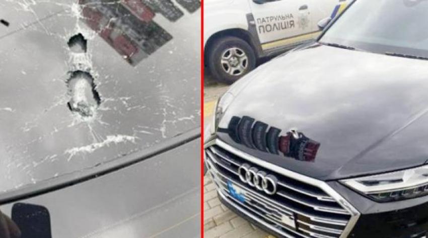 Ukrayna Cumhurbaşkanı Yardımcısının aracına silahlı saldırı!