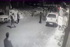 Uludağ'daki meydan savaşı kamerada