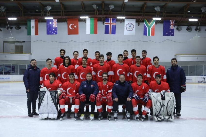 Ümit Milli Buz Hokeyi Takımı, U20 Dünya Şampiyonası'nda bronz madalya kazandı