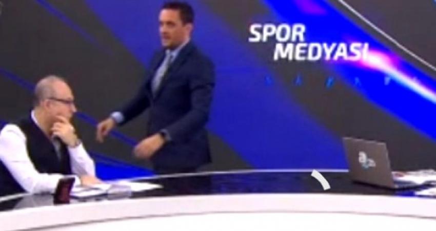 Ünlü futbol yorumcusu canlı yayında fenalaştı