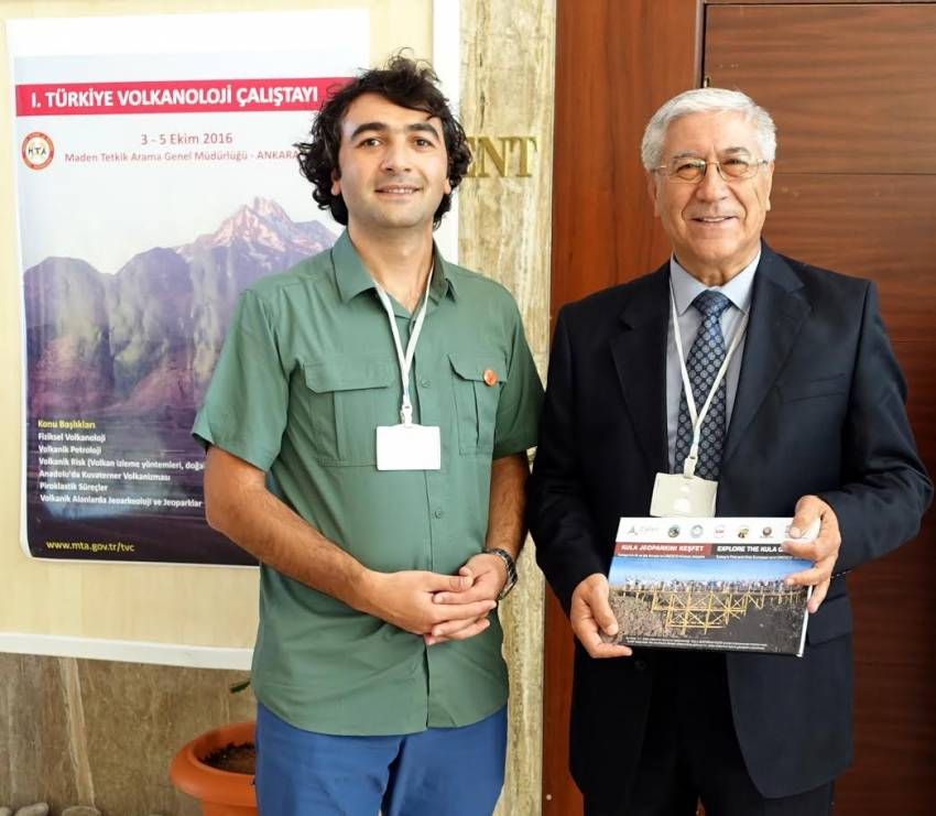 Manisa Celal Bayar Üniversitesi MTA Ulusal Volkanbilim Çalıştayına katıldı