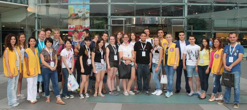 Merinos Lions, yabancı öğrencileri ağırladı