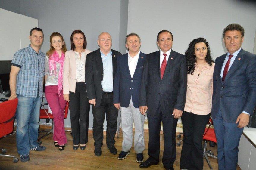 CHP milletvekili adaylarından 'bursa.com'a ziyaret