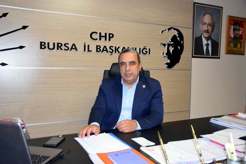 CHP Bursa: İsrail'in yaptığı katliamdır