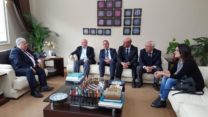 Masum Türker'den BGC'ye ziyaret
