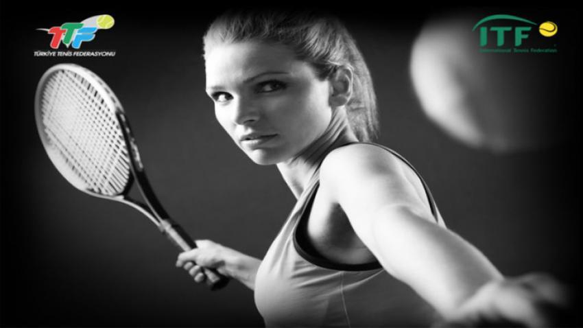 Bursa Cup ITF Kadınlar Turnuvası devam ediyor