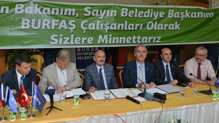 BESAŞ ve BURFAŞ işçisine toplu sözleşme zammı