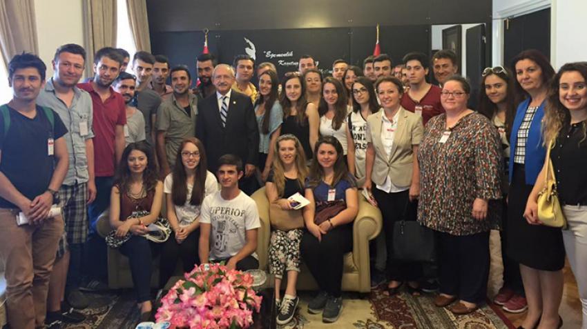 Orhangazili CHP'li gençler Meclis'te