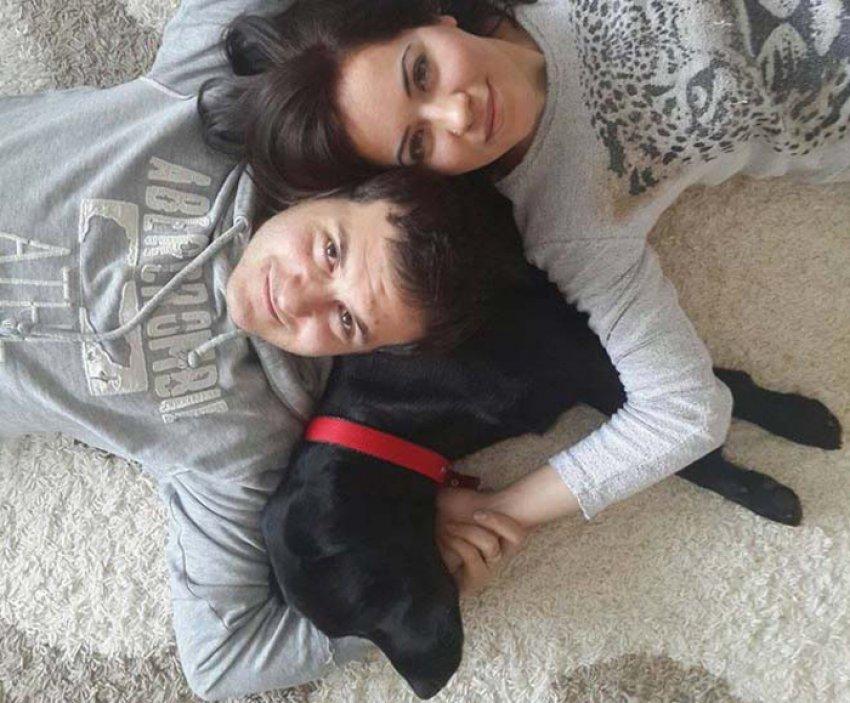 Köpeğini kurtarmak için girdiği havuzda öldü