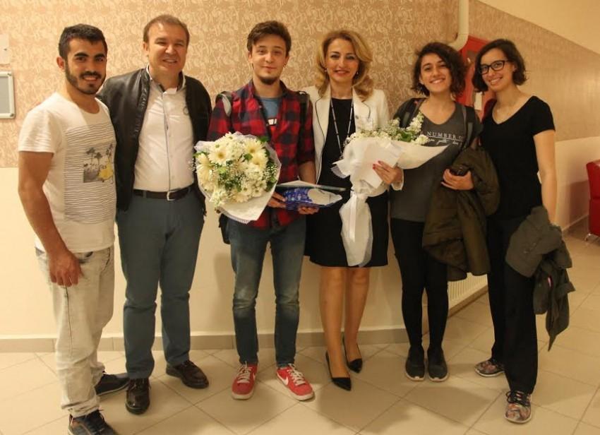 Üniversite öğrencileri Bursa'yı yazdı